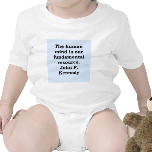 cita de John F. Kennedy Trajes De Bebé