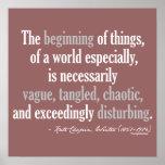 Cita de Kate Chopin Posters