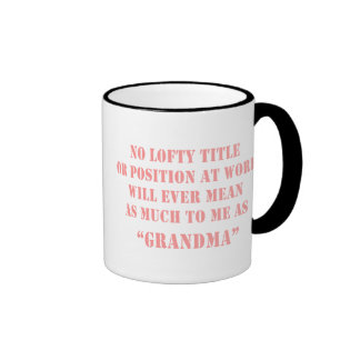 Cita de la abuela tazas de café