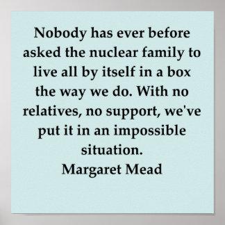 cita de la aguamiel de Margaret Impresiones