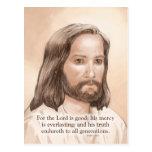 Cita de la biblia del arte de Jesús de la sepia -  Tarjetas Postales