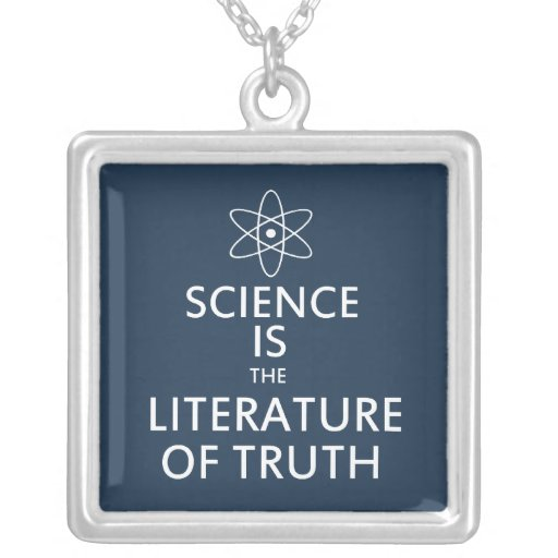 Cita de la ciencia colgante cuadrado