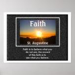 Cita de la fe - poster