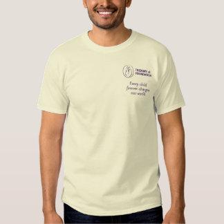 Cita de la fundación del Trisomy 18 - la camiseta Remeras