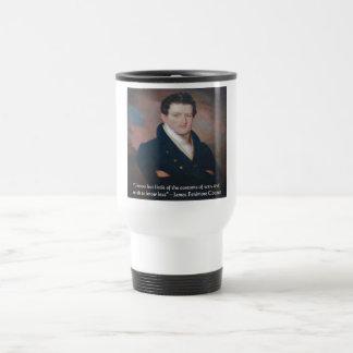 Cita de la guerra de James Fenimore Cooper Tazas De Café