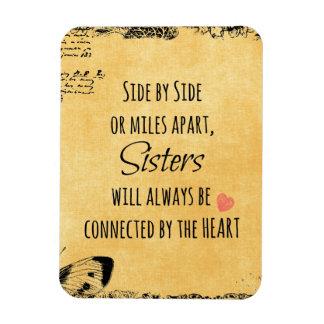Cita de la hermana imanes flexibles