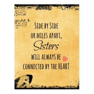 Cita de la hermana postales