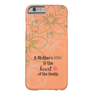 Cita de la mamá funda para iPhone 6 barely there