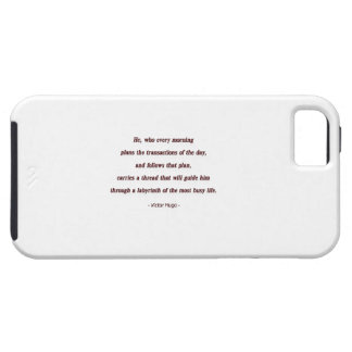 Cita de la mañana de Victor Hugo - él, que cada… iPhone 5 Carcasa