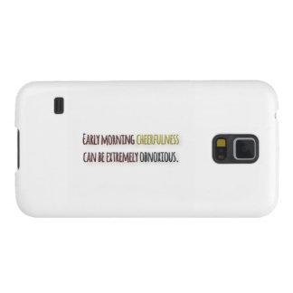 Cita de la mañana por la pluma de Guillermo Carcasas De Galaxy S5