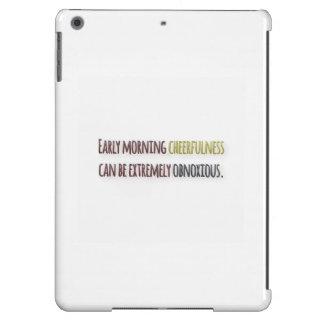 Cita de la mañana por la pluma de Guillermo Funda Para iPad Air