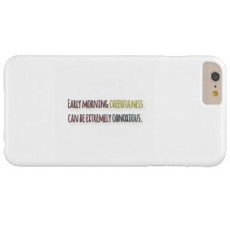 Cita de la mañana por la pluma de Guillermo Funda Para iPhone 6 Plus Barely There