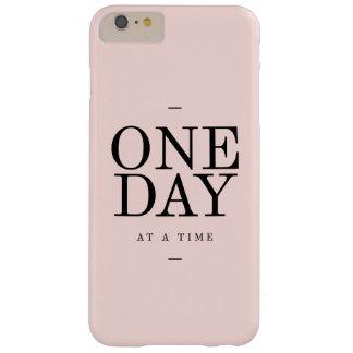 Cita de la perseverencia día se ruboriza regalo funda de iPhone 6 plus barely there