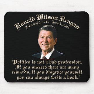 Cita de la política de Reagan Tapetes De Ratones