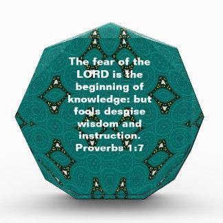 Cita de la sabiduría de los versos de la biblia qu