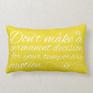 Cita de la sabiduría en la almohada