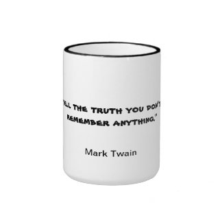 Cita de la taza de Mark Twain