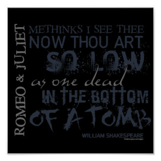Cita de la tumba de Romeo y de Juliet Posters