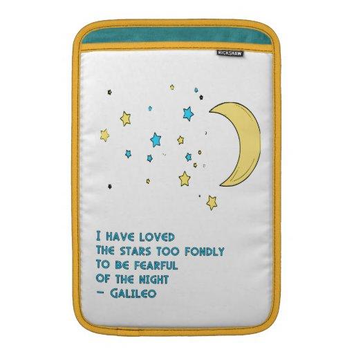 Cita de las estrellas de Galileo Fundas Macbook Air