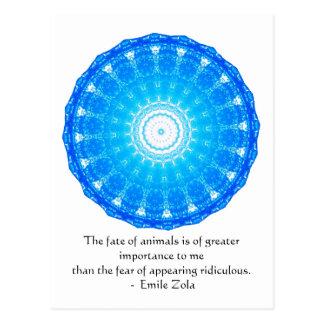 Cita de los derechos de los animales de Emile Postal