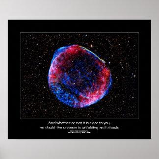 Cita de los desiderátums - la supernova más póster