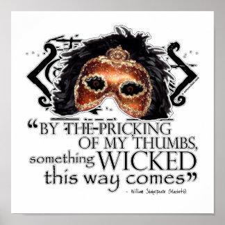 Cita de Macbeth Posters