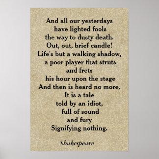Cita de Macbeth - poster