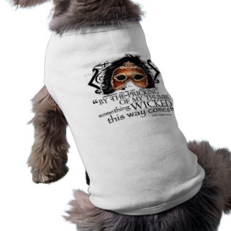 Cita de Macbeth Camisetas De Perrito