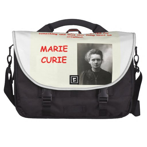 Cita de Marie Curie Bolsas De Ordenador