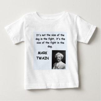 Cita de Mark Twain Playeras