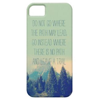 Cita de motivación de Emerson del caso del iPhone  iPhone 5 Carcasa