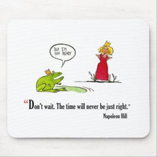 Cita de motivación del examen por la colina de alfombrilla de raton
