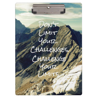 Cita de motivación: Desafíe sus límites