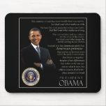 Cita de Obama Alfombrillas De Raton