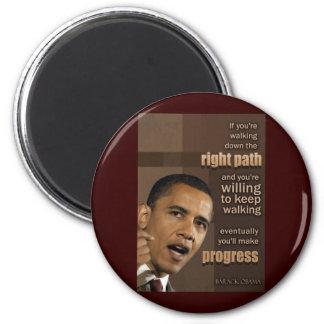 Cita de Obama Imán Redondo 5 Cm