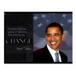 Cita de Obama Postales