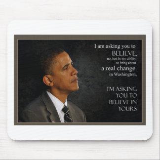 Cita de Obama Tapete De Raton