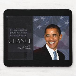 Cita de Obama Alfombrilla De Raton