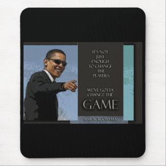 Cita de Obama Alfombrilla De Ratón