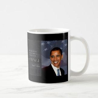 Cita de Obama Taza Básica Blanca