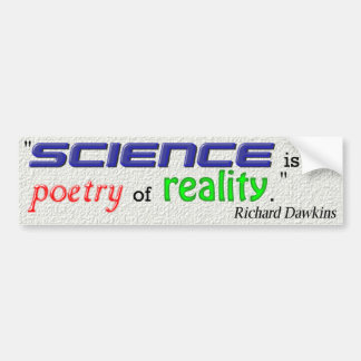 Cita de Richard Dawkins Etiqueta De Parachoque