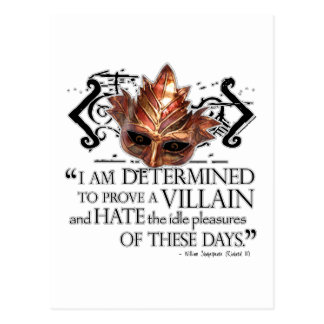 Cita de Richard III Postal