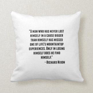 Cita de Richard Nixon Cojin