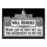 Cita de Rogers en eficacia del gobierno Felicitación