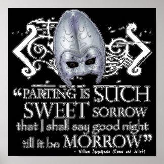 Cita de Romeo y de Juliet Posters