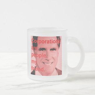Cita de Romney - las sociedades son gente, mi amig Taza De Café