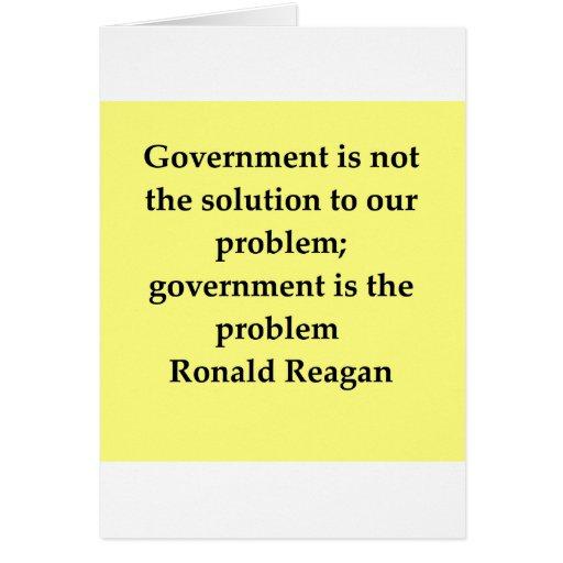 cita de Ronald Reagan Felicitacion