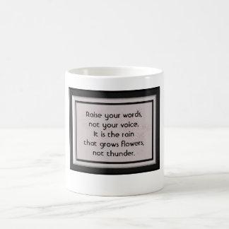 Cita de Rumi - taza de café