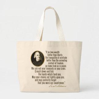 Cita de Samuel Adams Bolsa