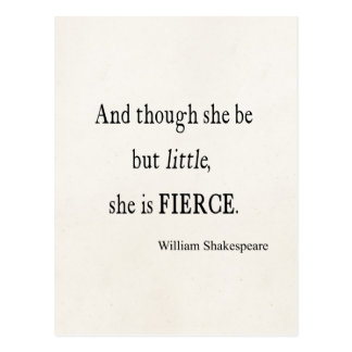 Cita de Shakespeare ella sea citas pequeñas pero Tarjetas Postales